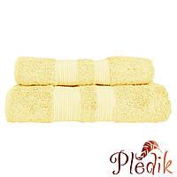 Махровое полотенце 50х90 бамбук/хлопок London CASUAL AVENUE  светло-золотой