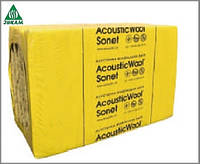 Акустическая минеральная вата AcousticWool Sonet