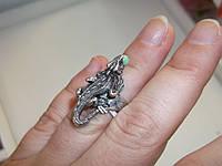 Кольцо САЛАМАНДРА с нефритом от Студии LadyStyle.Biz, фото 1