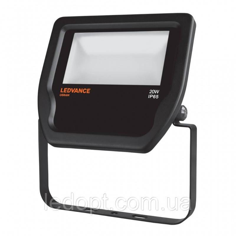 Светодиодный прожектор LEDVANCE OSRAM 20W 4000К IP65 Black