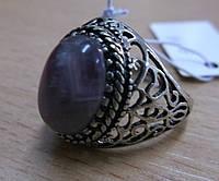 """Кольцо с аметистом """"Овал"""", размер 18 от Студии LadyStyle.Biz , фото 1"""