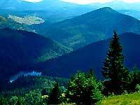 Тур в Карпаты, Закарпатье летом, осенью, весной - озеро Синевир