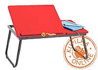 Столик для ноутбука  NT03 коралловый (красный)