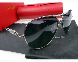 Солнцезащитные очки Cartier 205 silver SR-528