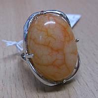 Кольцо с солнечным халцедоном, размер  17,5 от студии LadyStyle.Biz, фото 1