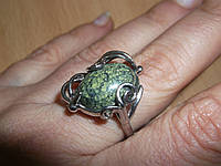 """Кольцо со змеевиком """"Локон"""" размер  17 от студии LadyStyle.Biz, фото 1"""