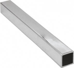 Алюминиевая квадратная труба 35х35х2 мм профиль 6060 Т6, экструзия АД31Т, фото 2