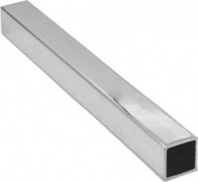 Труба  алюминиевая квадратная  35х35х2 мм 6060 Т6, фото 2