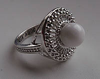"Кольцо из кахолонга ""Солнце""  17,8 размера от Студии  www.LadyStyle.Biz, фото 1"