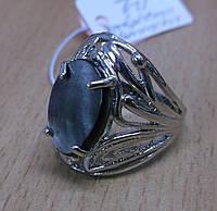 """Экзотическое колечко с натуральным перламутром-галиотисом """"Павлин"""", размер 17 от студии LadyStyle.Biz, фото 1"""