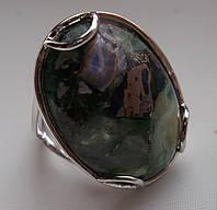 """Роскошное кольцо с флюоритом """"Овал""""  18,7 размера от студии LadyStyle.Biz, фото 1"""