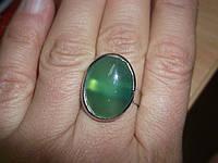 Перстень с зеленым агатом от студии LadyStyle.Biz, фото 1