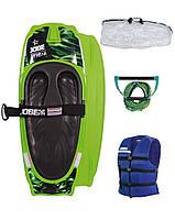 Набор для нибординга Jobe Streak Kneeboard Green Package