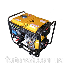Дизельный генератор FORTE FGD6500E (5,5 кВт)