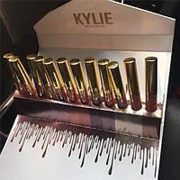Kylie Jenner limited edition Большой набор помад из 12 помад