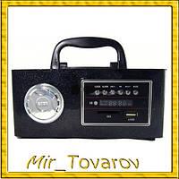 Колонка-бумбокс портативная+радио +ДУ+Кабель