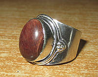 """Красивый перстень  с бычьим глазом """"Глазастик"""", размер 19,6 от Студии  www.LadyStyle.Biz"""