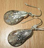 """Серебряные серьги с турителлой  """"Веер""""  от студии LadyStyle.Biz, фото 1"""