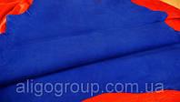 Велюр-шевро Royal  SAPPHIRE яр.синий, фото 1