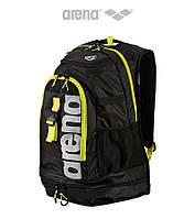 Большой рюкзак на 45 литров Arena Fastpack 2.1 (Black/Fluo Yellow)