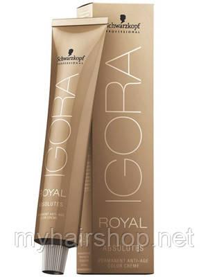 Стійка фарба для сивого волосся SCHWARZKOPF Igora Royal Absolutes 60 мл