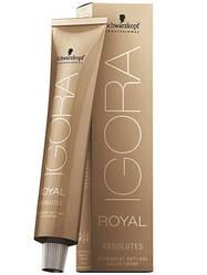 Стойкая краска для седых волос SCHWARZKOPF Igora Royal Absolutes 60 мл