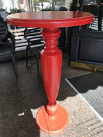 Стол для кафе или пабов из дерева