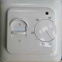 Терморегулятор теплого пола механический с тумблером ТР 110