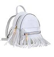 553978 Сумка-рюкзак YES Weekend (белая маленькая)
