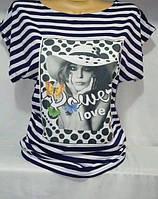 Женская футболка вискоза (S–L, маломеры)