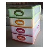 Ящик пластиковый 4 шухляды