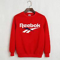 Кофта без капюшона Reebok красная