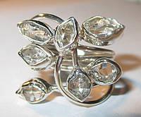 """Интересное колечко с херкимерским алмазом """"7 камней"""",   от студии LadyStyle.Biz"""