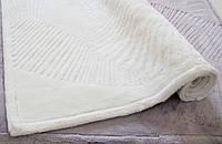 Коврик для ванной комнаты Karaca Home бамбук Trend молочный 70*120