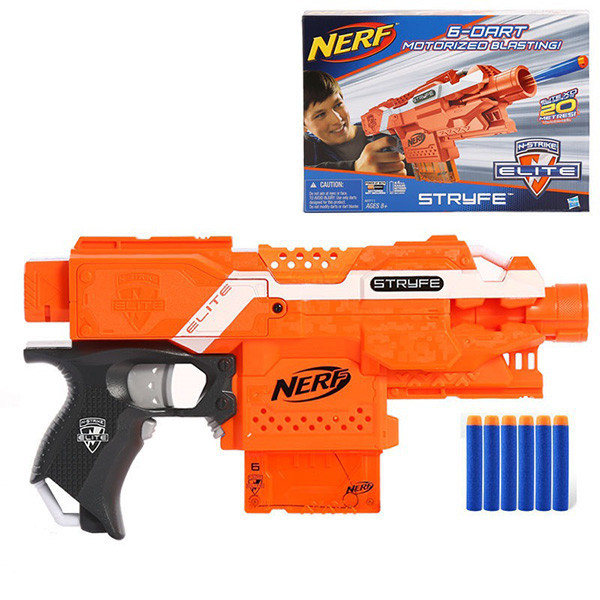 Бластер Нерф Элит Страйф Stryfe Hasbro Nerf Elite A0200