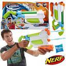 Бластер Нерф водяной детское оружие Супер Сокер Потоп NERF A9466, фото 3
