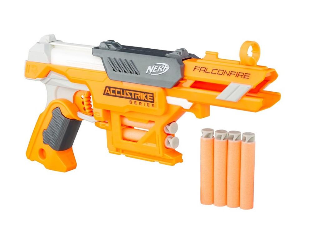 Бластер Нерф Nerf N-Strike Accustrike Falconfire B9839