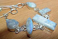 """Интересный браслет с натуральным лунным камнем """"Карусель"""" от студии  LadyStyle.Biz, фото 1"""