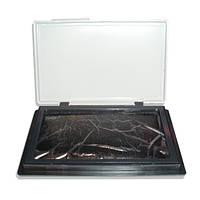 Штемпельная подушка Economix черная (7х11см) Е42101-01