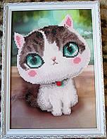 "Картина  ""Серый котенок"" от студии LadyStyle.Biz, фото 1"