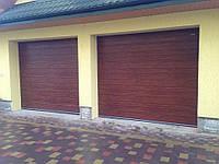Гаражные секционные ворота 2400*2000