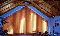 Вертикальні жалюзі для нестандартних вікон