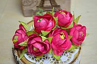 Пионы (цена за букет из 6 шт). Цвет - розовый
