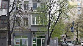 Остекление балкона с выносом от подоконника (г. Киев) 12,52 м2