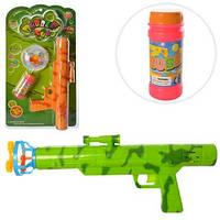 Мыльные пузыри 3016А пистолет+запаска