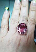 """Крупный перстень с султанитом   """"Олигарх"""", размер 17,2 от студии LadyStyle.Biz, фото 1"""