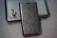 Чехол книжка для Samsung Galaxy J3 J300 J320 J310 (2016) Duos цвет черный