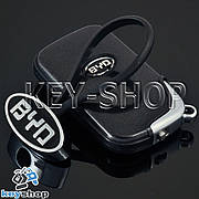 Металлический брелок для авто ключей BYD (Бюд)