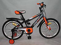 Велосипед двухколёсный 20 дюймов Azimut Stitch А оранжевый***