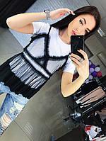 Женская футболка с сеткой АП-214
